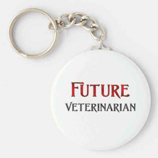 Future Veterinarian Keychain