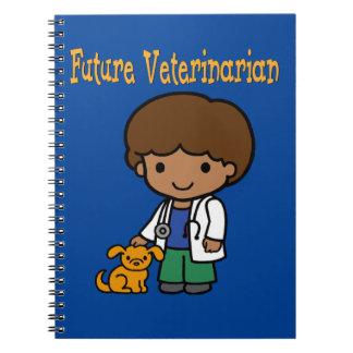 Future Veterinarian When I Grow Up Spiral Notebook