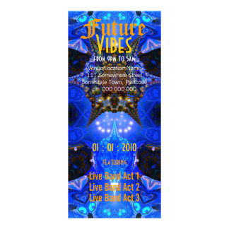 Future Vibes #2 Event Flyer Rack Cards