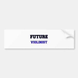 Future Violinist Car Bumper Sticker