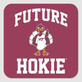 Future Virginia Tech Hokie Square Sticker