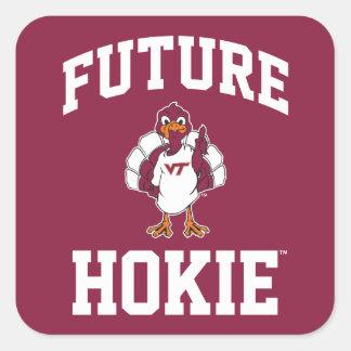 Future Virginia Tech Hokie Square Sticker