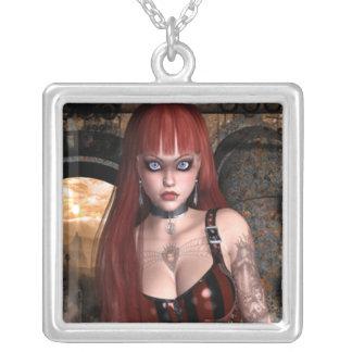 Future Vixen Cyber Goth Necklace