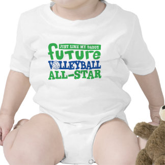 Future Volleyball All Star-Daddy Bodysuits