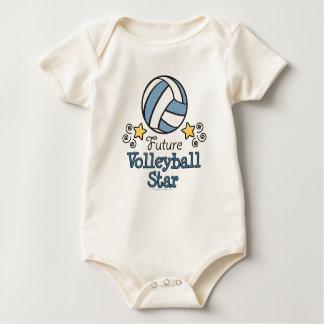 Future Volleyball Star Baby One Piece Baby Bodysuit