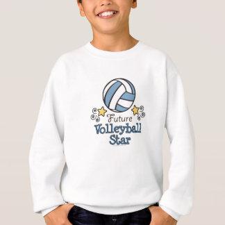 Future Volleyball Star Kids Sweatshirt