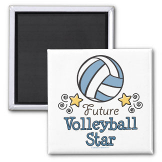 Future Volleyball Star Magnet