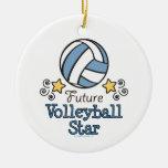 Future Volleyball Star Ornament