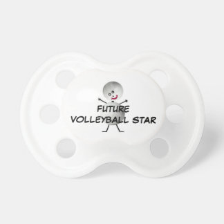 Future Volleyball Star Pacifier