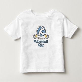Future Volleyball Star Toddler Ringer T-shirt