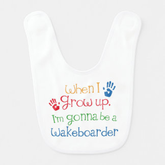 Future Wakeboarder Baby Bib