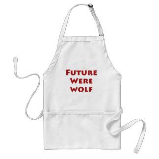 Future Werewolf Adult Apron
