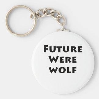 Future Werewolf Keychain