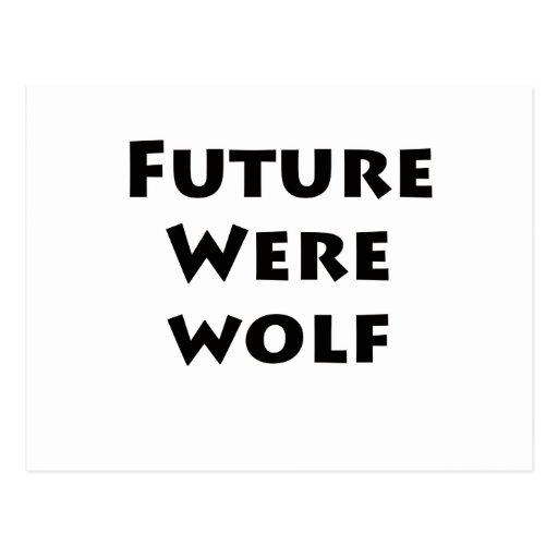 Future Werewolf Postcard