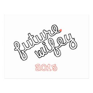 Future Wifey Postcard