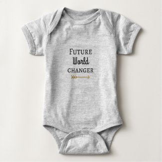 Future World Changer Baby Bodysuit