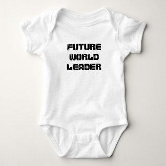 Future World Leader baby shirt