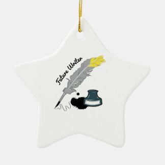 Future Writer Christmas Tree Ornament