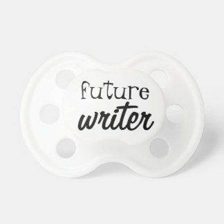 Future Writer Pacifier