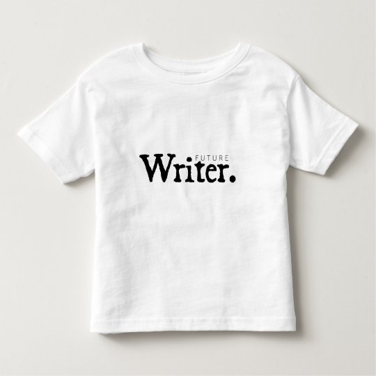 FUTURE Writer. Toddler T-shirt