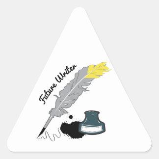 Future Writer Triangle Sticker