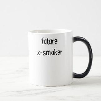 future x-smoker (shirt) coffee mug