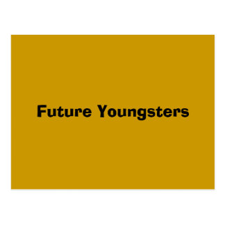 Future Youngsters Postcard