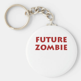 Future Zombie Keychain