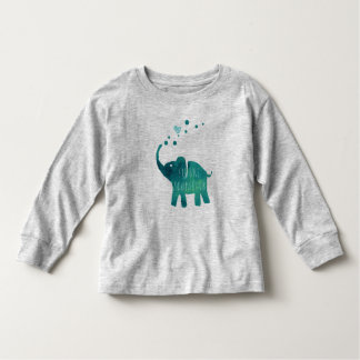 Future Zookeeper Elephant Toddler Long Sleeve Toddler T-shirt