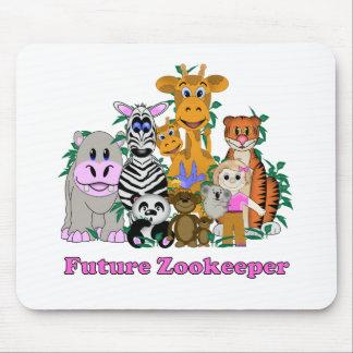 Future Zookeeper Girl Mousepads