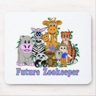 Future Zookeeper Mouse Pad