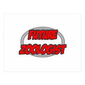 Future Zoologist Postcard