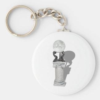FutureInPerspective061210Shadow Basic Round Button Keychain
