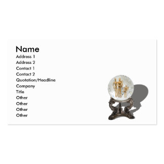 FutureOfFamilyCard, Name, Address 1, Address 2,... Double-Sided Standard Business Cards (Pack Of 100)
