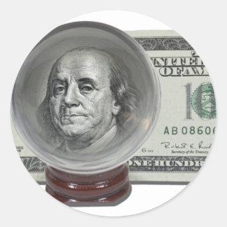 FutureOfInflation042911 Pegatina Redonda