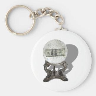 FutureOfMoney061210Shadows Basic Round Button Keychain