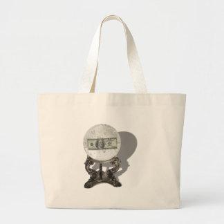 FutureOfMoney061210Shadows Large Tote Bag