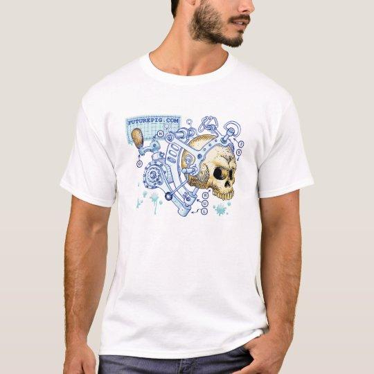 Futurepig Machanoid Skull T-Shirt