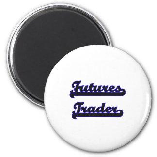 Futures Trader Classic Job Design 2 Inch Round Magnet