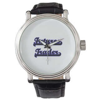 Futures Trader Classic Job Design Watches