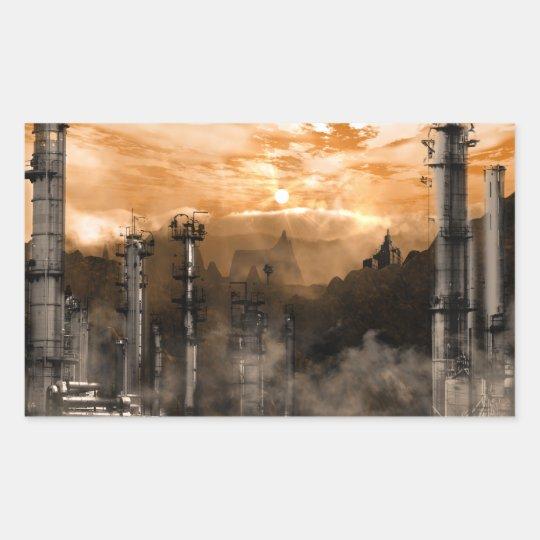 Futurescape Gothic Landscape Sticker