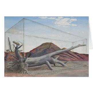 Futurescape landscape environmental message card