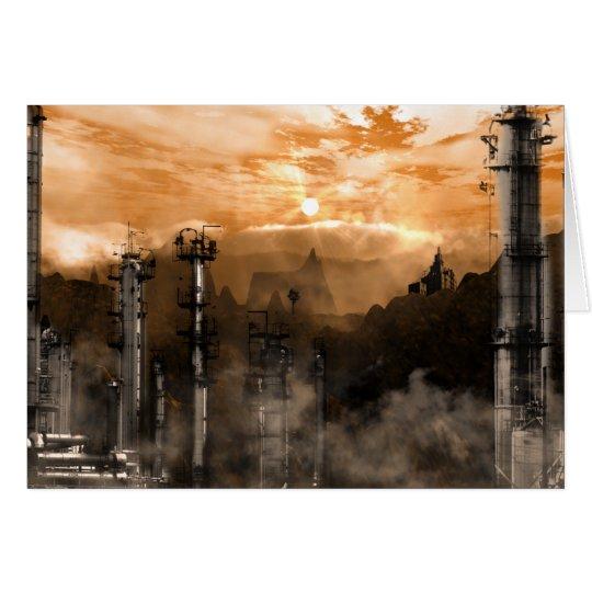 Futurescape Sci-Fi Gothic Landscape Card