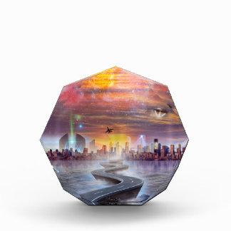FutureVision Acrylic Octagon Award
