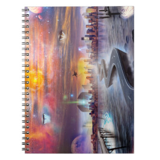 FutureVision Photo Notebook (80 Pages B&W)