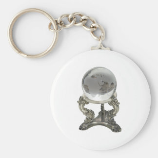 FutureWorld100309 Basic Round Button Keychain
