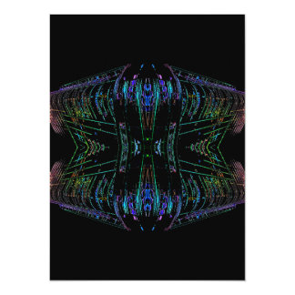Futurism Futuristic Abstract Art Thing Card