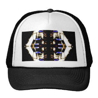Futurismo ligero púrpura del surco de las señales  gorras de camionero