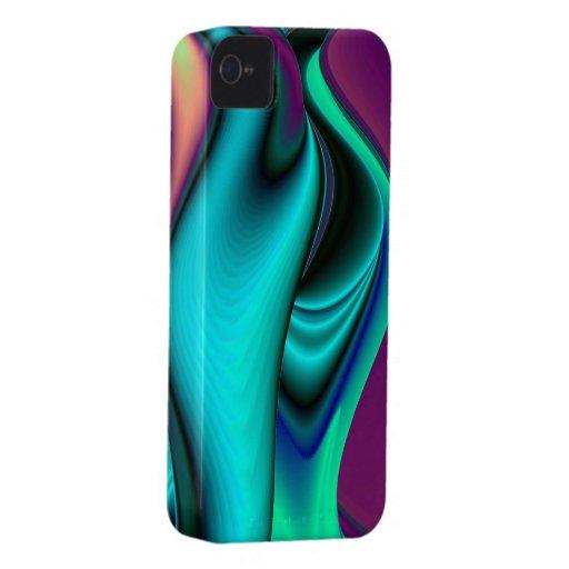 Futurista, abstractamente iPhone 4 Case-Mate carcasas