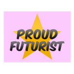 Futurista orgulloso tarjetas postales